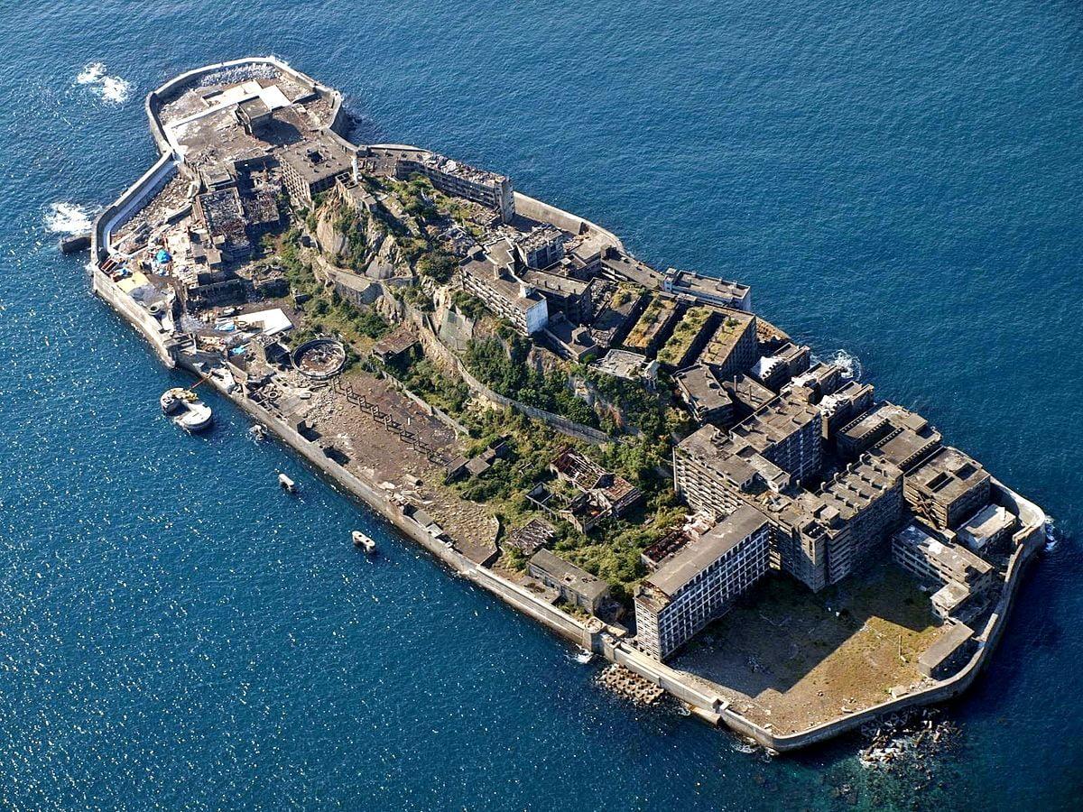 De ruïnes van Hashima hebben Skyfall niet nodig