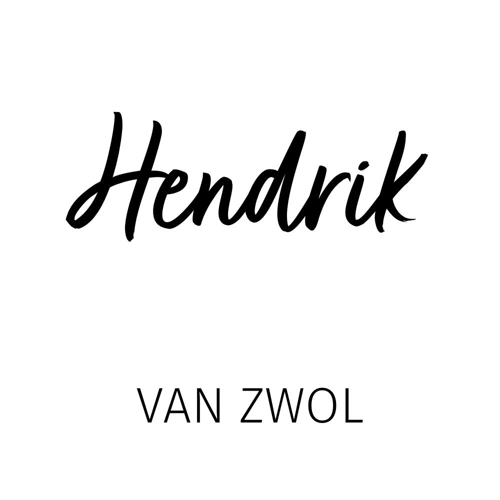Hendrik van Zwol